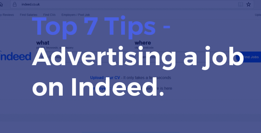 Top 7 Tips for Advertising a Job on Indeed - Post My Job